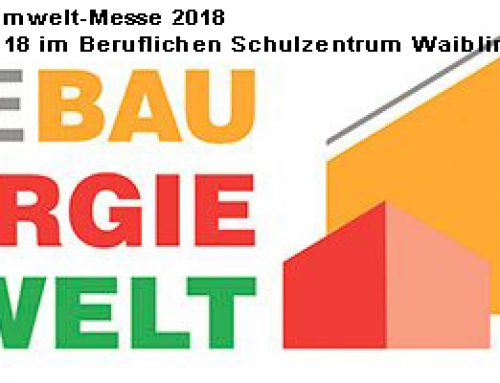 Bau-Energie-Umwelt am 03. und 04. Februar 2018 in Waiblingen